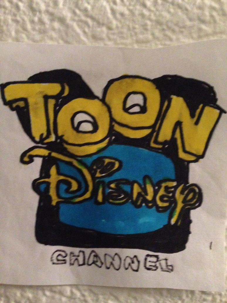 Toon Disney Channel Logo Drawing by NWeezyBlueStars23