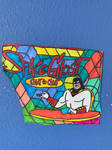 Space Ghost Coast To Coast Art Colorful DesignDraw by NWeezyBlueStars23
