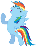 Rainbow Dash Victory
