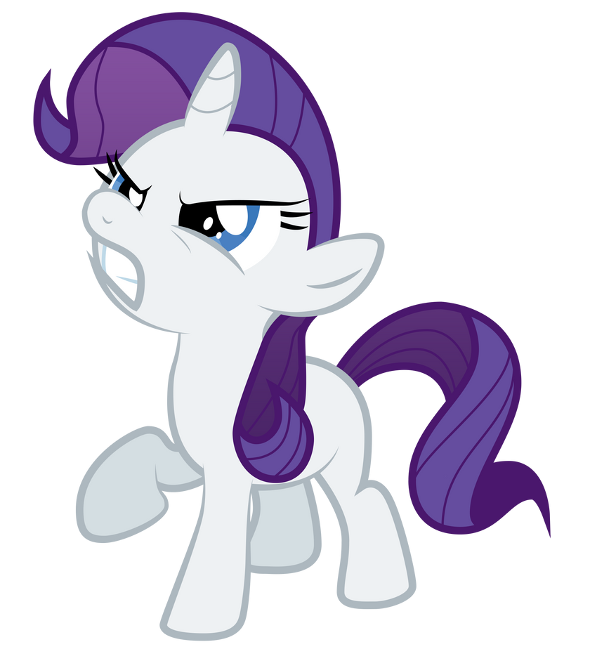 Rarity Filly by Omniferious on deviantART