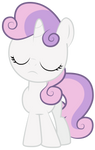 Sweetie Belle Isn't Interested