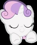 Sweetie Belle - Resting