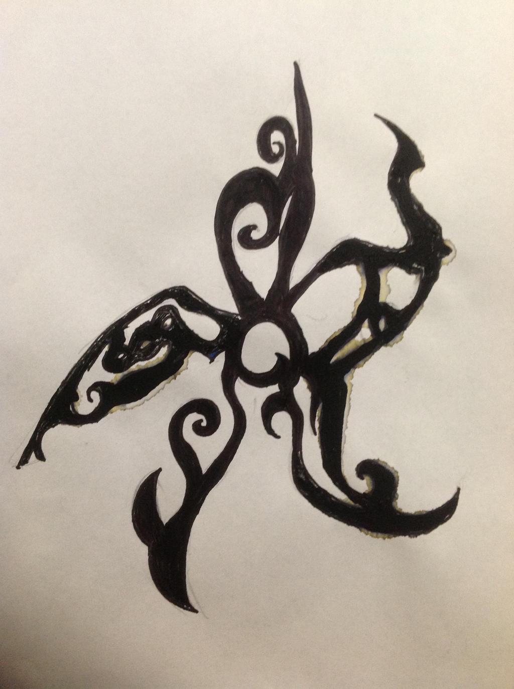 Maori Twist Tattoo: Twisted Maori Flower Tattoo Design By FemeItaly On DeviantArt