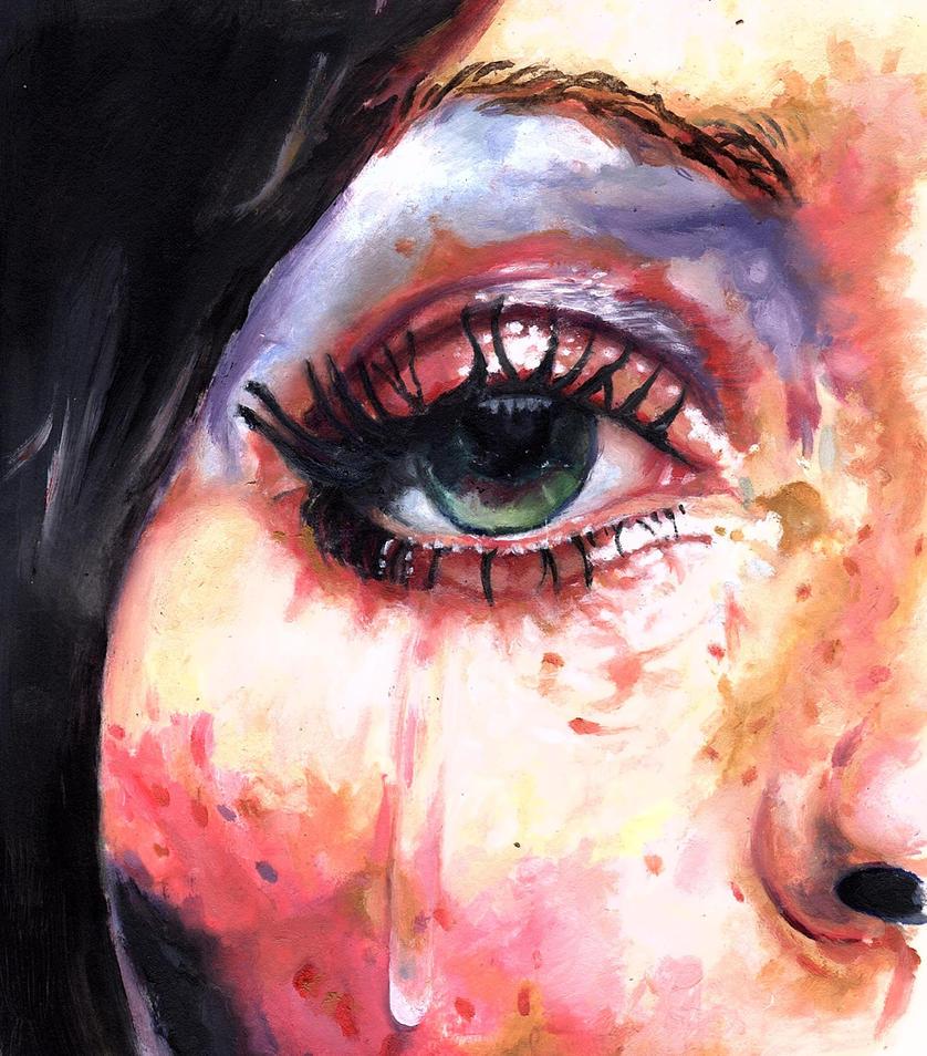 Some Women Cry by FemeItaly on DeviantArt | 838 x 954 jpeg 186kB