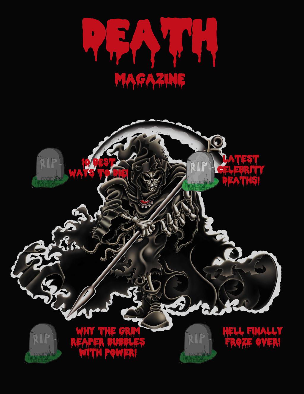 Death Magazine by djunk855