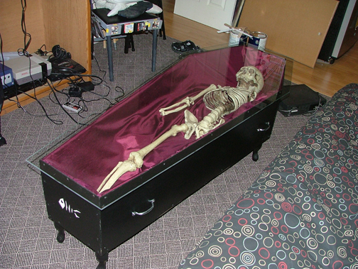 My Coffin Table By Steven On DeviantArt - Coffin coffee table