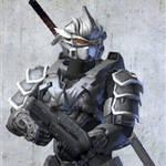 Halo 3 Katana Hayabusa armor