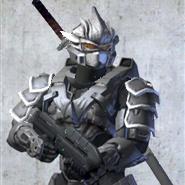 Halo 3 Katana Hayabusa armor by MasterChief-S117