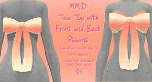 MMD P2U Tube Top with Front and Back
