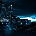 big blue city by Szylvester