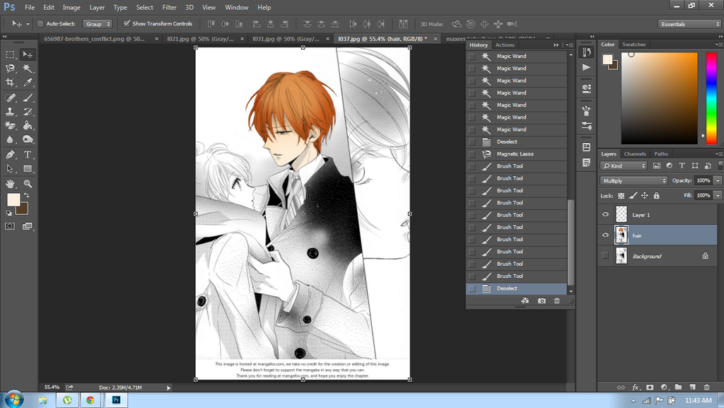 Coloring Natsume and Ema by laxyoppa on DeviantArt