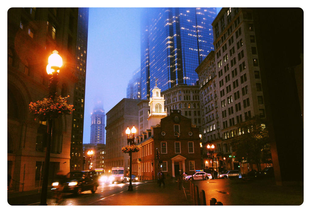 Old Boston Courthouse by unknown-dark