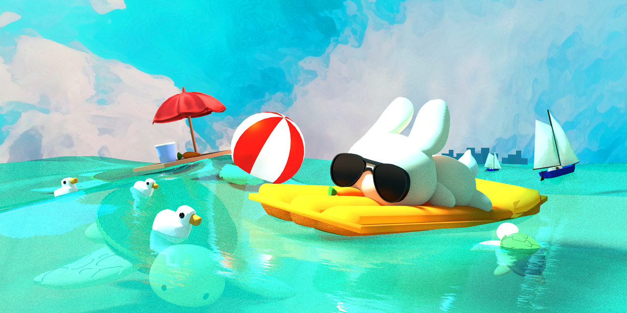 James Bunny on vacation by 0x0539
