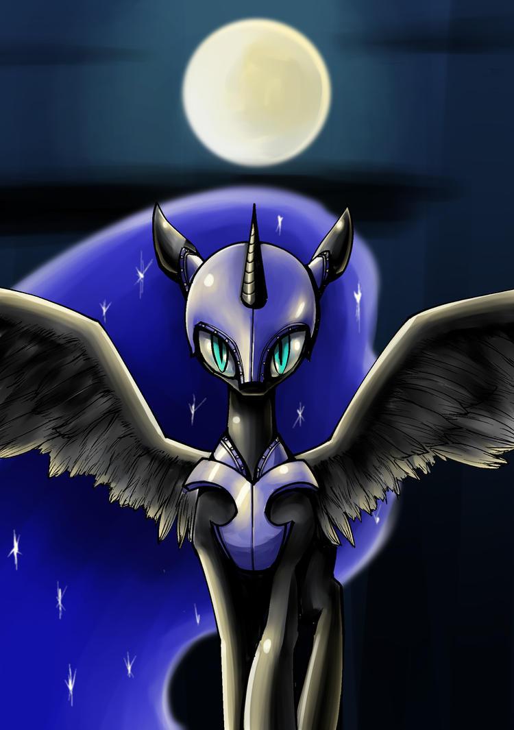 Nightmare Moon by conbudou