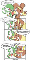 Lopunny and Gardevoir