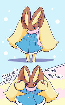 Lopunny Winter Clothed