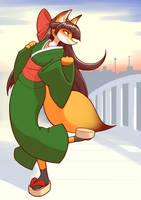 Fox by unousaya