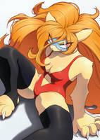 Lion Girl by unousaya