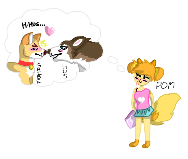 shibe x hus by magjks on DeviantArt