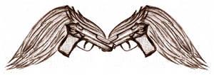 Winged guns
