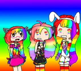 Rainbow sisters contest