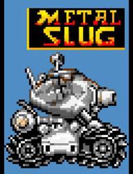 Metal Slug Tank by GUILTY-SPARK343