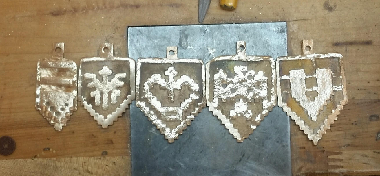 Bronze Galaga medals by GUILTY-SPARK343
