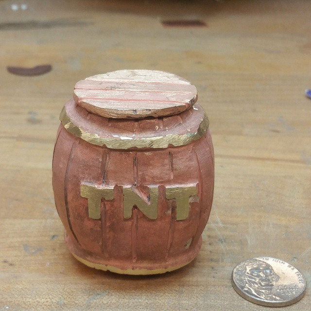 Finished TNT Barrel by GUILTY-SPARK343