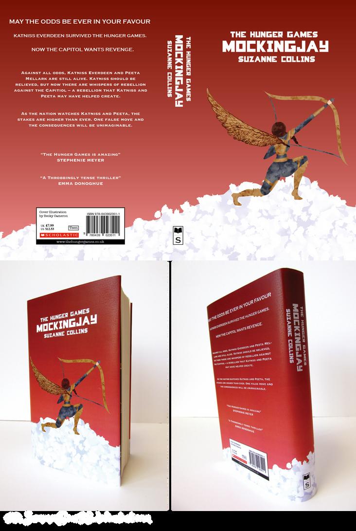Book Cover Design Deviantart : Mockingjay book cover design by summerbear on deviantart