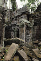 Stock 50 Tah Prohm temple by clair0bscur-stock