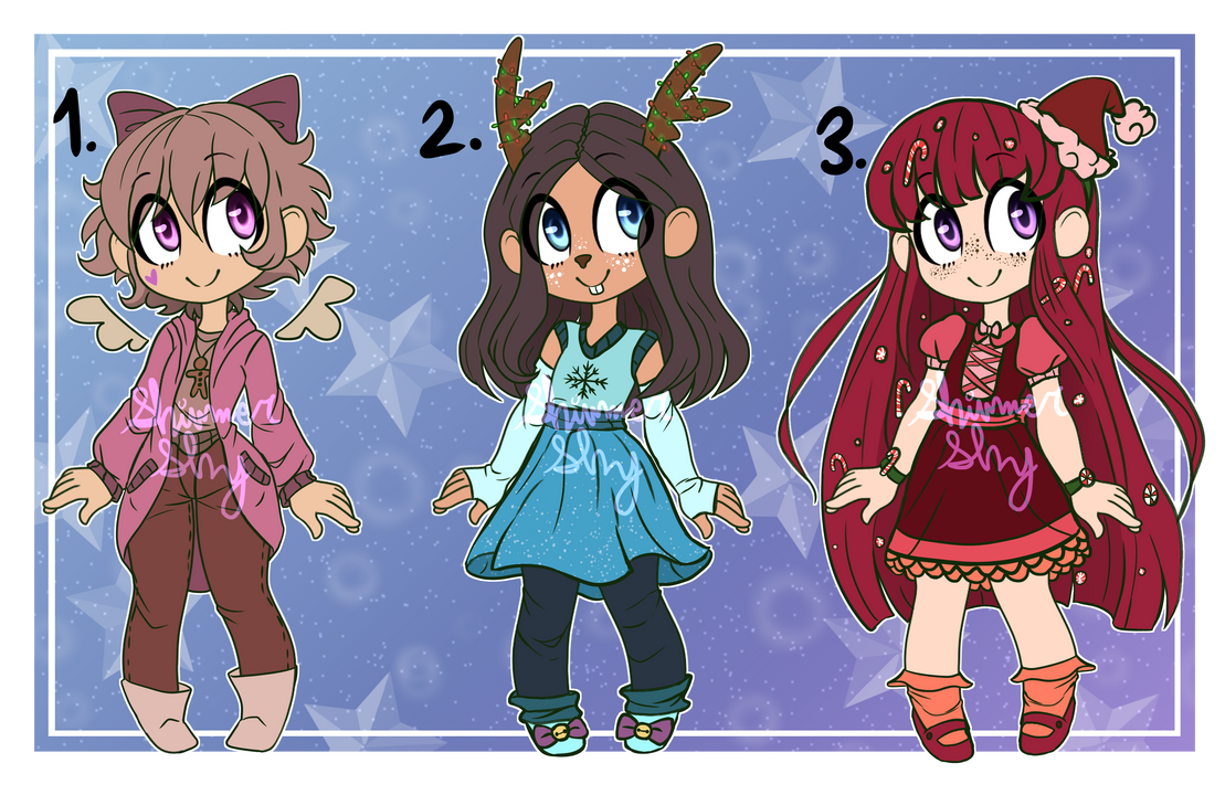 Christmas Adopts #5 [2/3 Open] by Shimmer-Shy