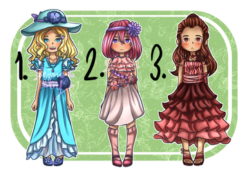 Flower-Themed Adopts #8 [3/3 Open] by Shimmer-Shy