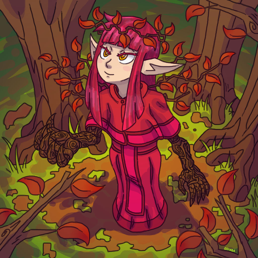 Queen of Autumn Leaves - yu-gi-oh!