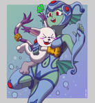 Ranamon and Tailmon/Gatomon