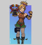 Rikku - final fantasy 10