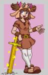 Piglin girl - Minecraft