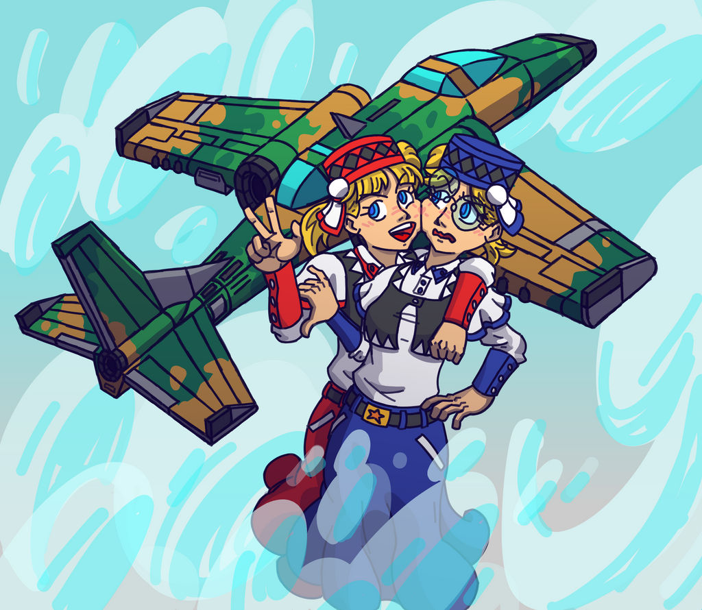 Chaika Pooshika - Aero Fighters