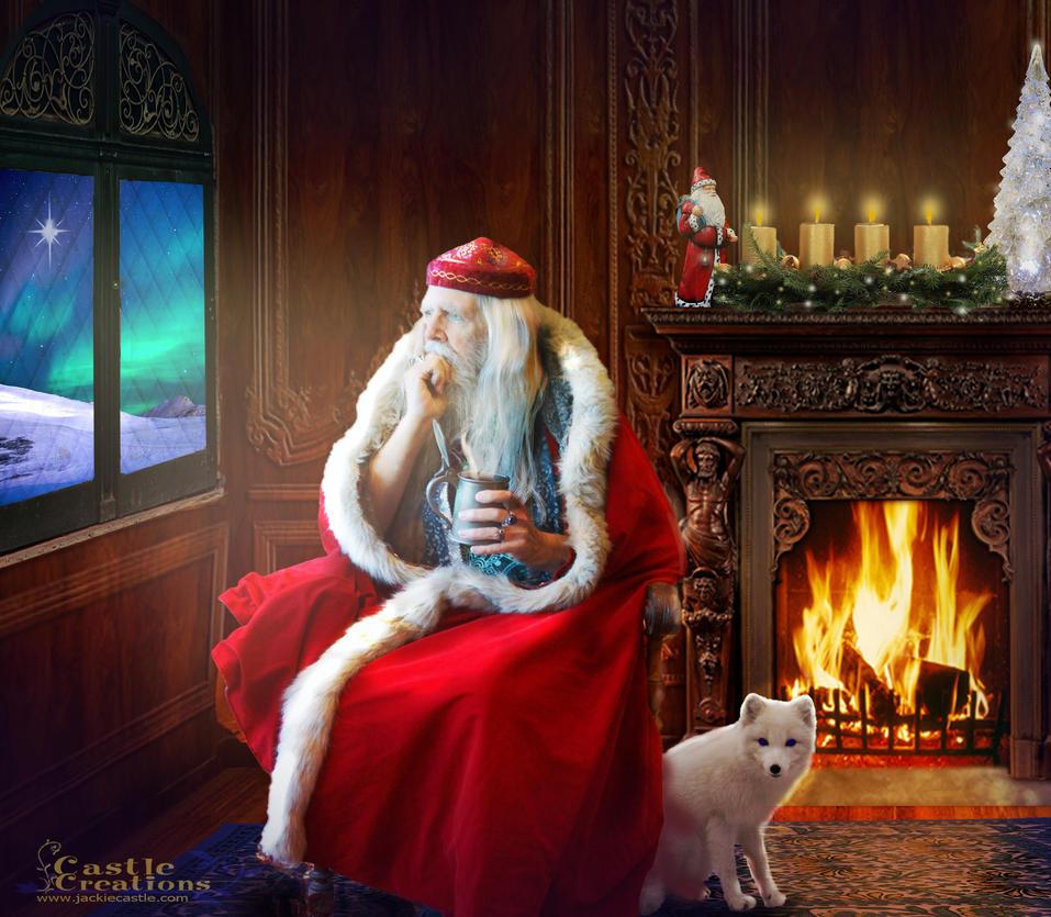 Santa's Contemplation by jcastle316