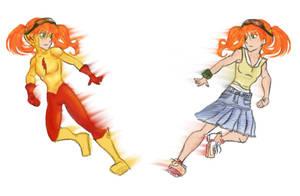 Iris West II -Kid Flash_WoTB by ArkhamLady