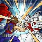 Strider vs Silver Samurai