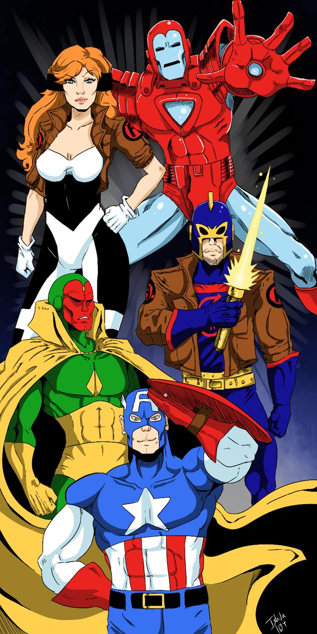 The Avengers - Galactic Storm by Ishida1694