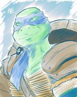 Teenage Mutant Ninja Turtles - Leonard 2014 Sketch by Ishida1694
