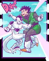 Freeza vs Gohan by Ishida1694