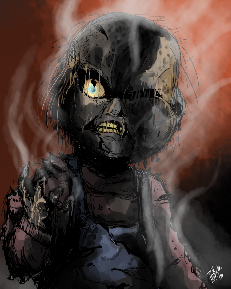 Chucky Wallpapers: Burnt Chucky By Ishida1694 On DeviantArt