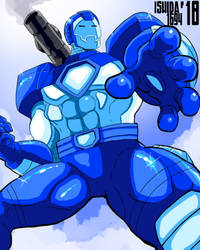 War Machine - Capcom Blue by Ishida1694