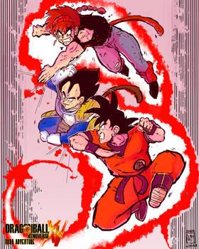 Xenoverse Okra 27 - Double Kaioken Attack!!