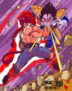 Xenoverse Okra 30 - Kaioken Attack x3!!!