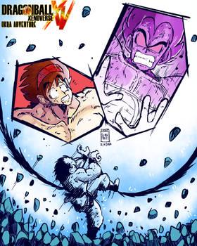 Xenoverse Okra 31 - Son Goku Uses Kaioken x4!!!