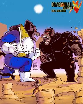 Xenoverse Okra 34 - Oozaru Battle for the Earth