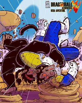 Xenoverse Okra 35 - Okra vs Vegeta! Savagery!